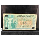 SERIES 692 MILITARY PAYMENT CERTIFICATE 10 CENTS