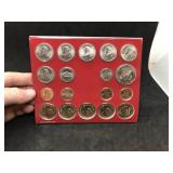 2009 PHILADELPHIA US MINT UNCIRCULATED 18 COIN SET
