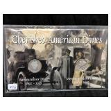 CHERISHED AMERICAN DIMES - BARBER AND MERCURY