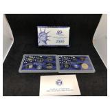 2000 US MINT PROOF SET - 10 COIN SET
