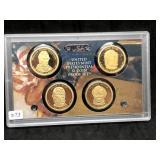 2009 US MINT STATE QUARTER PROOF SET - 5 COIN SET