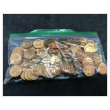 100pcs 1963 BU Lincoln Pennies
