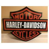 Metal Harley Davidson Sign