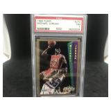 1992 Fleer 273 Michael Jordon 273 PSA NM 7