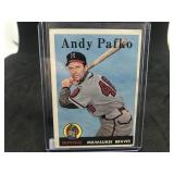 1958 Topps 223 Andy Pafko