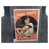 1959 Topps 202 Roger Maris