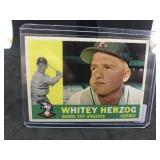 1960 Topps 92 Whitey Herzog