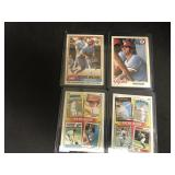 4 Topps Pete Rose Cards, 1978, 1981,1986,1986