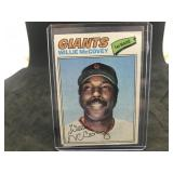 1977 Topps 547 Willie McCovey