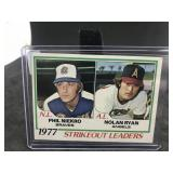 1978 Topps 206 Strike out Leaders. Nolan Ryan…..