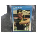1987 Fleer Update U-76 Mark McGwire
