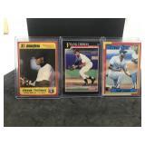 3 Frank Thomas Cards