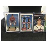 3 Chipper Jones Cards