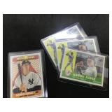 4 Topps Aaron Judge Baseball Cards