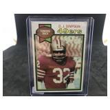 1979 Topps 170 O.J. Simpson
