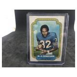 1974 Topps 1 O.J. Simpson