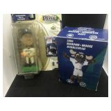 1991 Play Makers Ichiro and Mariner Moose Bobble