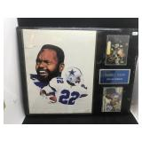 Emmit Smith Football Plaque