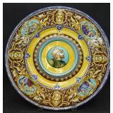 Antique Gien France Faience Platter