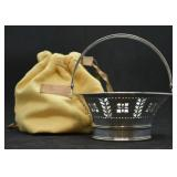 Tiffany & Co. Sterling Silver Candy Basket Dish