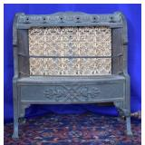 Antique Peerless Hearth-Fyre Gas Fireplace