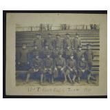 1918 University of Tennessee Football Team Photo