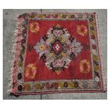 Antique Persian Foyer Table Carpet