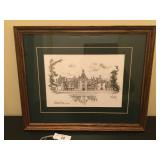Biltmore House Signed Print