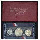 U.S. Bicentennial Silver UNC Set