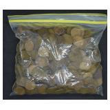 5lb 9oz Bag of Wheat Pennies