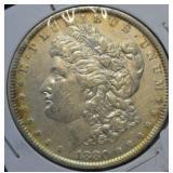 1880 Morgan Silver Dollar AU - Toner