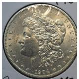 1904 Morgan Silver Dollar Choice BU