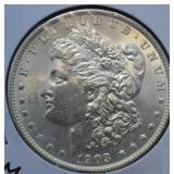1903 Morgan Silver Dollar Choice BU