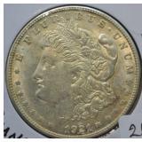 1921 S Morgan Silver Dollar Choice BU