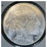 .999 Fine Silver 1 Troy Ounce Buffalo Round
