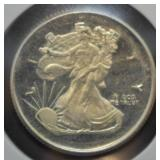 .999 Fine Silver .25 Troy Ounce Liberty Round