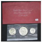 1976 U.S Bicentennial Silver UNC Set