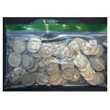 50 pcs. Jefferson Nickels