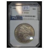1896 Morgan Silver Dollar MS63