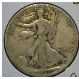 1920 S Walking Liberty Silver Half Dollar