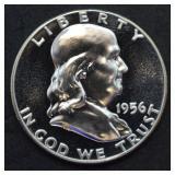 1956 Franklin Half Dollar Proof