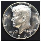 1967 Kennedy Half Dollar Proof
