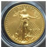 2006 St. Gaudins $5 Gold Coin