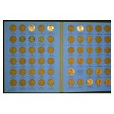 Lincoln Cent Book - Mostly Complete
