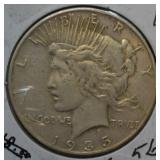 1935 Peace Dollar