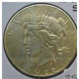 1922 S Peace Dollar Choice BU