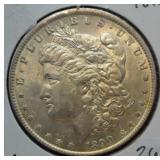 1890 Morgan Silver Dollar Choice BU