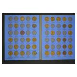 Lincoln Cent Book - Number 1 - Partial