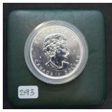 2006 Canadian Mint 1/2oz  Wolf Silver Dollar