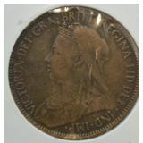 1898 British Penny